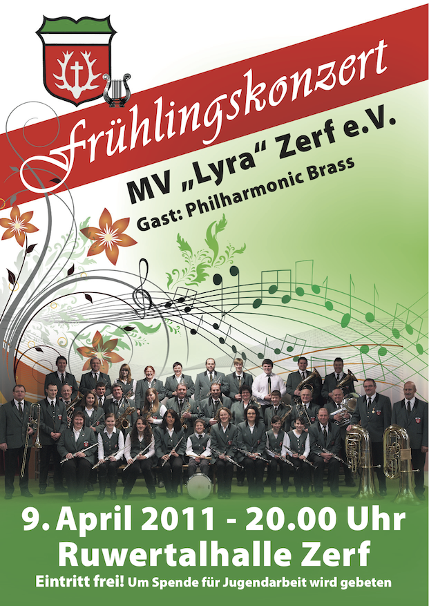 Frühlingskonzert 2011 am 09. April